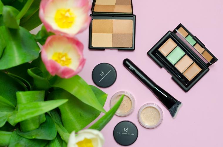 e.l.f._Bronzer_Palette_&_Concealer_Palette_&_Face_Brush_Lilyscolours