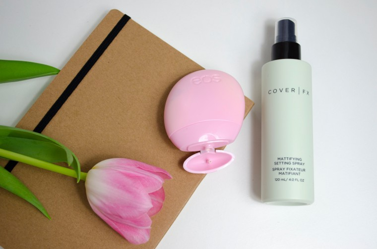 eos_Berry_Blossom_&_Cover_FX_Mattifying_Spray_Lilyscolours