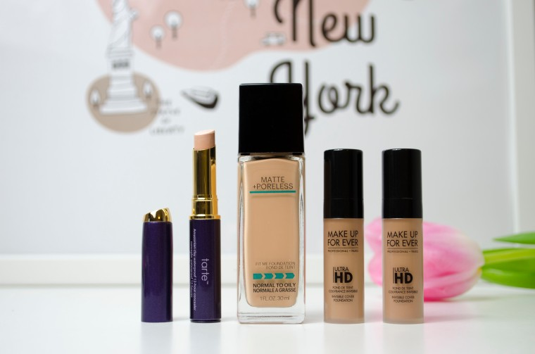 Tarte_Amazonian_Conceale_&_Maybelline_Fit me!_&_Make_Up_For_Ever_Ultra_HD_Invisible_Cover_Foundation_Lilyscolours